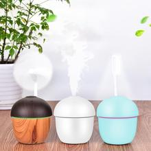 Adoolla Cute Acorn Shape USB Rechargeable 3 in 1 Fan Night Light Air Humidifier