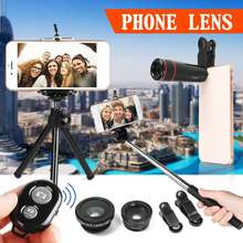All in 1 Accessories Phone Camera Lens Top Travel Kit Smart