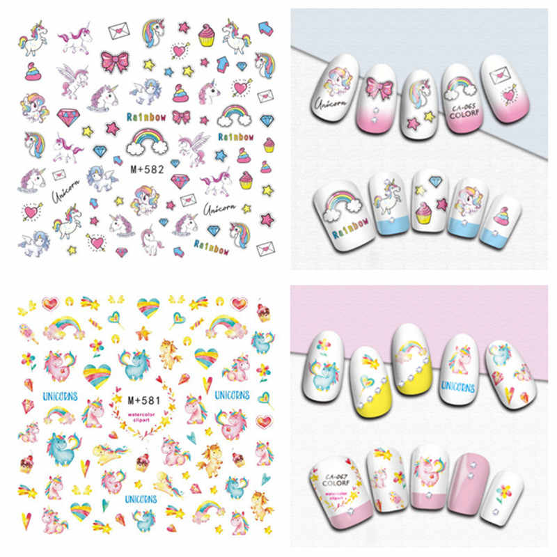 Detail Feedback Questions About Cute Cartoon 3d Nail Art Decals