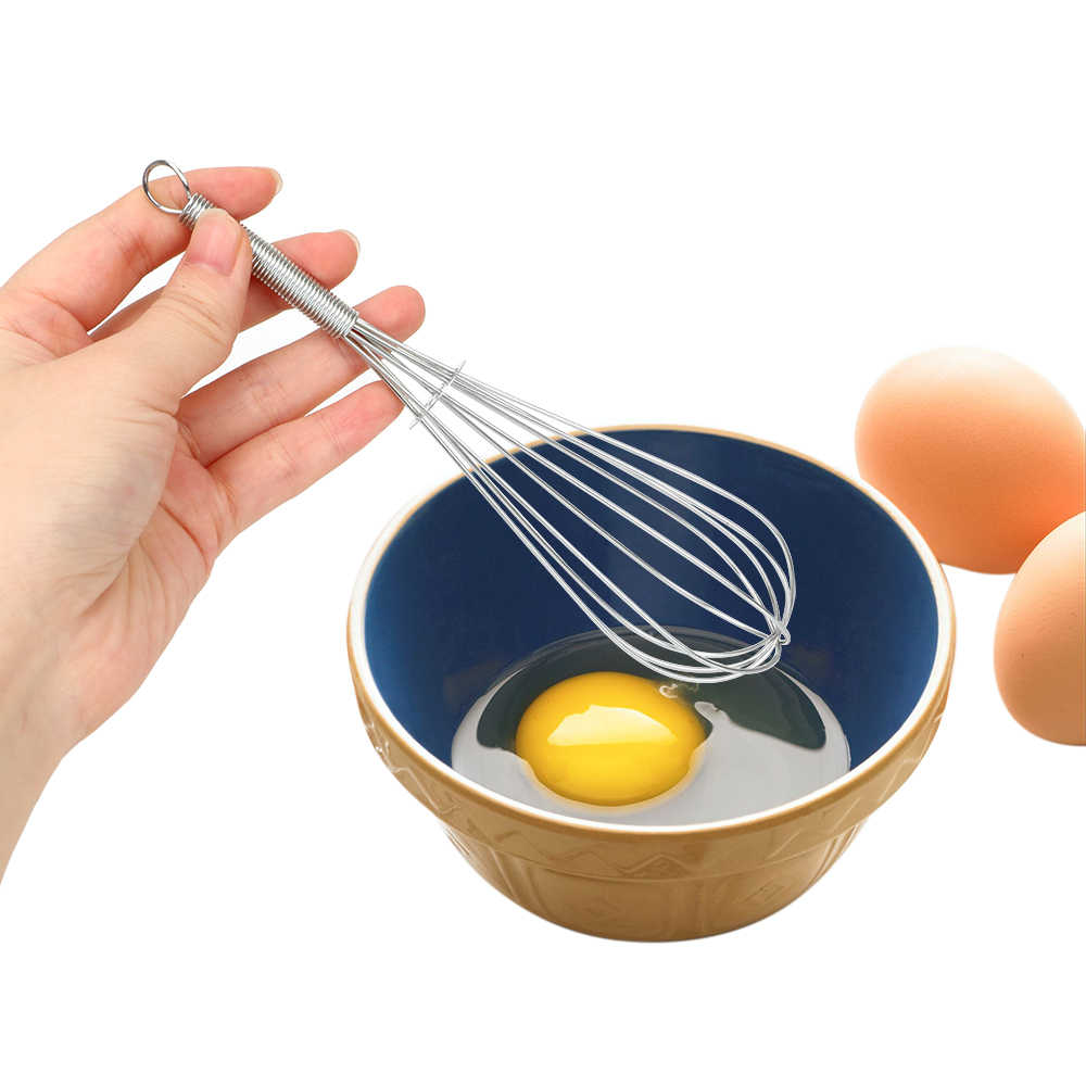 Cream Baking Flour Stirrer Egg Beater Cooking Tool Hand Whisk Mixer for Eggs Multifunction Stainless Steel Kitchen Accessories