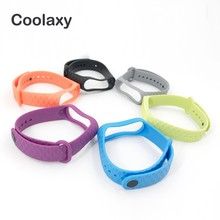 Coolaxy Bracelet For Xiaomi Mi Band 3 Sport Strap Silicone Wrist Accessories Miband