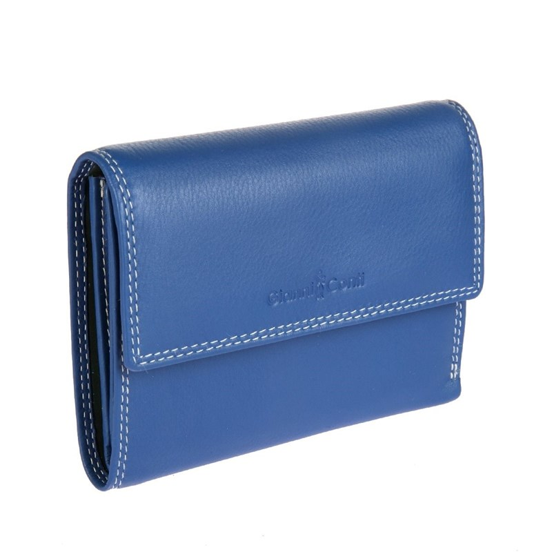 Coin Purse Gianni Conti 1808253 El. Blue Mult uk national flag pattern portable pu leather coin purse for women blue