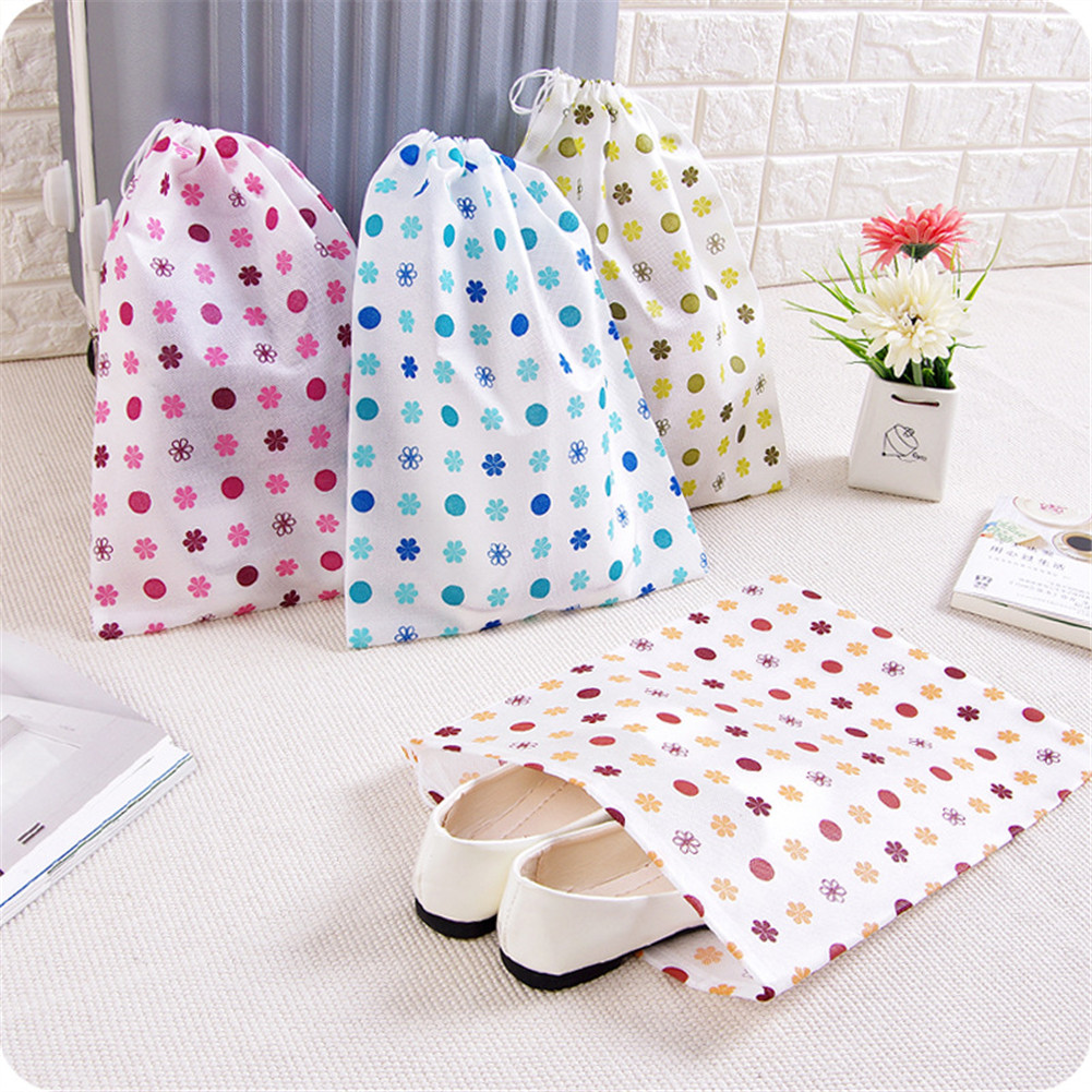 DEZEMIN Non-woven Fabric Packing Organizer Bags Toiletry Pouch Cosmetic Bag