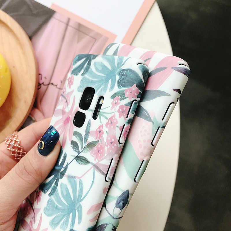 Ottwn чехол для телефона для samsung Galaxy S8 S9 плюс S7 край A3 A5 A7 A8 J3 J5 J7 2017 Note 8 9 Жесткий Пластик задняя крышка для samsung S9