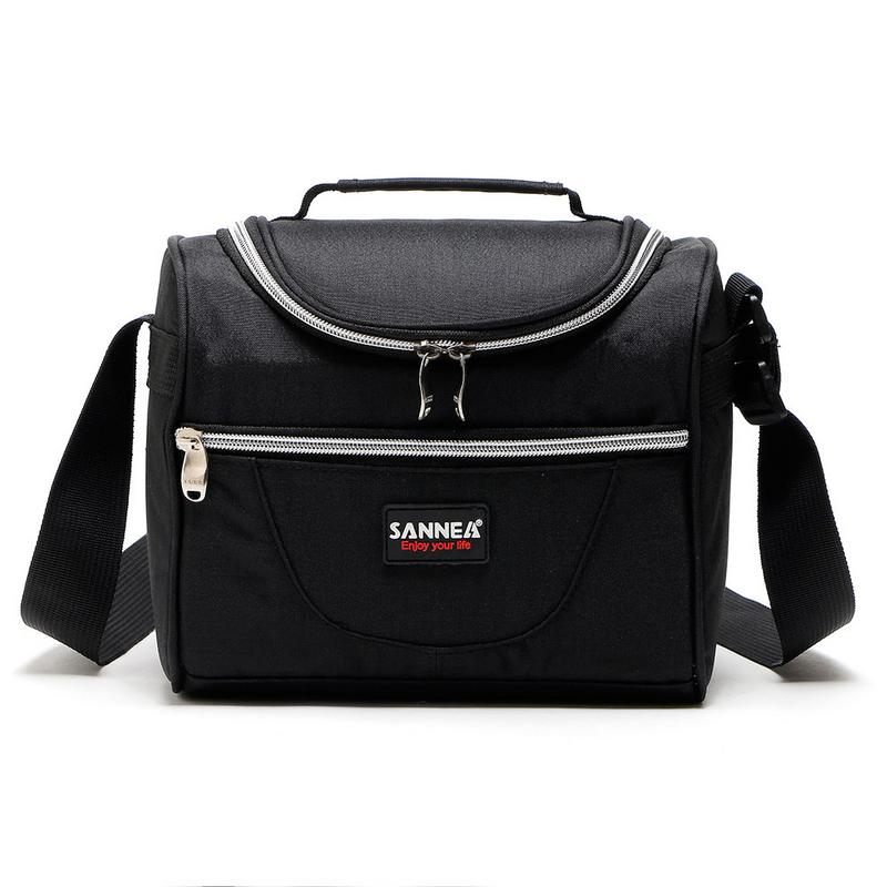 Color Casual Lunch Bag Portable Children Lunch Bag Outdoor Picnic Food Storage Insulation Portable Therma Bags For Women And Men