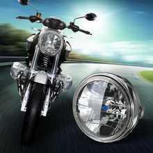 7 Inch Мотоцикл фар круглый H4 светодиодный фара для Honda Для Kawasaki Для Suzuki для Yamaha