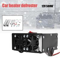Universal Car Heater Defroster DC 12V 500W Car Truck Fan Heater Heating Warmer Windscreen Auto Fan Defroster Demister
