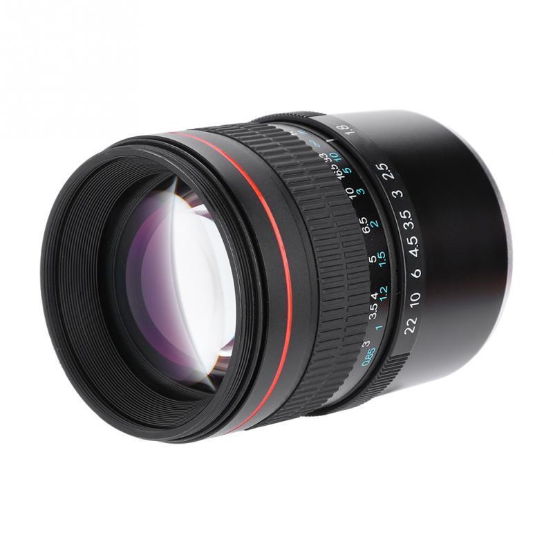 85mm F/1.8 Large Aperture Medium Telephoto Full-frame Manual Mirrorless Camera E Lens For Sony Camera E Len 85mm Fixed