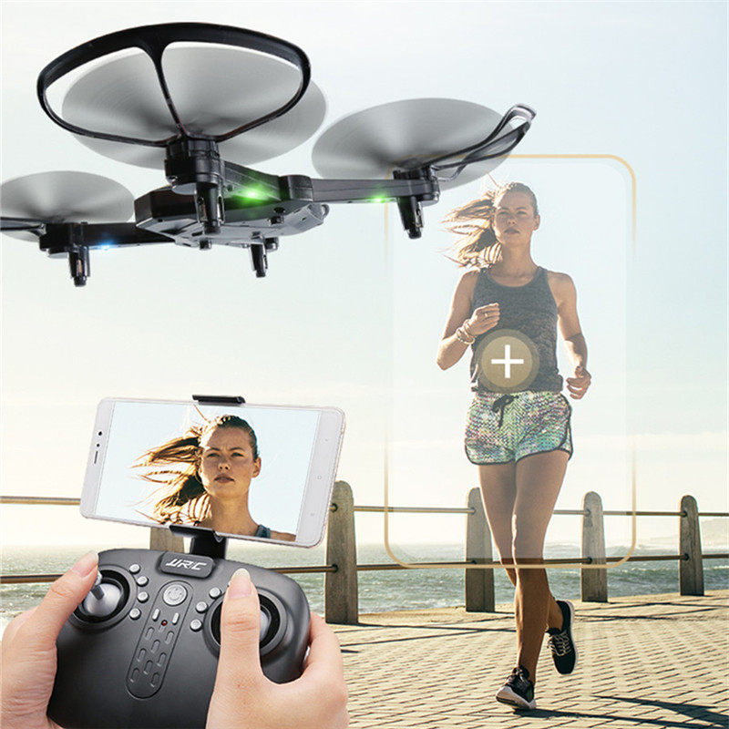 JJRC H44WH DIAMAN 720P WIFI FPV Foldable Selfie Drone With Wide Angle HD Camera High Hold Mode RC Quadcopter  Mini DroneJJRC H44WH DIAMAN 720P WIFI FPV Foldable Selfie Drone With Wide Angle HD Camera High Hold Mode RC Quadcopter  Mini Drone