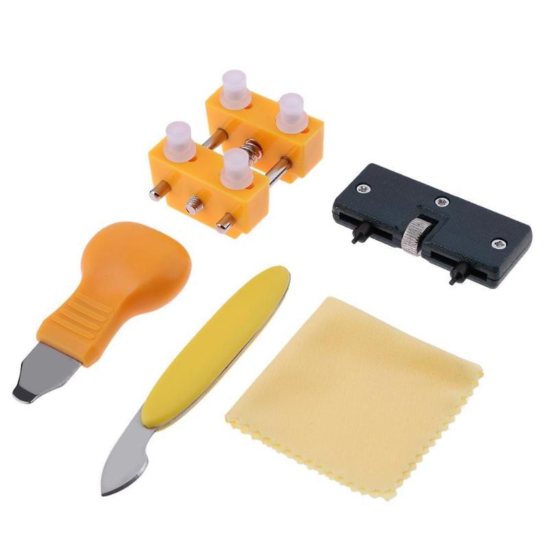 Schneidig 5 Stücke Uhr Zurück Abdeckung Fall Opener Remover Batterie Ändern Reparatur Tool Kit