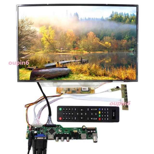 """液晶テレビ LED RF VGA AV USB HDMI 母コントローラボードカードキット Diy N154I2-L02 1280 × 800 17.1 """"液晶パネル画面"""