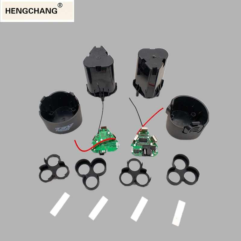 hand drill kit accessories electric screwdriver 3s bms li-ion 12.6V 18650 hand electric drill pcb with battery storage case box