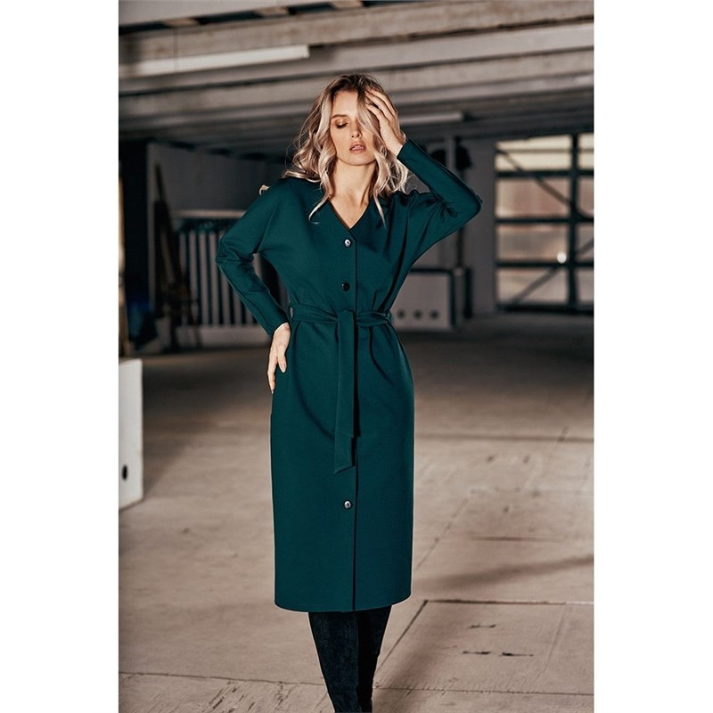 Dress C.H.I.C female CHIC TmallFS chic solid color crossover dress for women
