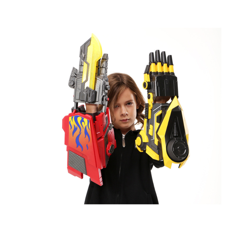 Pistolets à eau Transformation bras Robot déformation bras Robot Cosplay électrique pistolets à eau jouet pour enfants pistolets à air comprimé