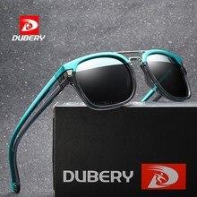 DUBERY Sunglasses Men Polarized Women 2019 Square Frame Vintage Sport Driving UV400 Retro Sun Glasses Mirror Luxury Brand