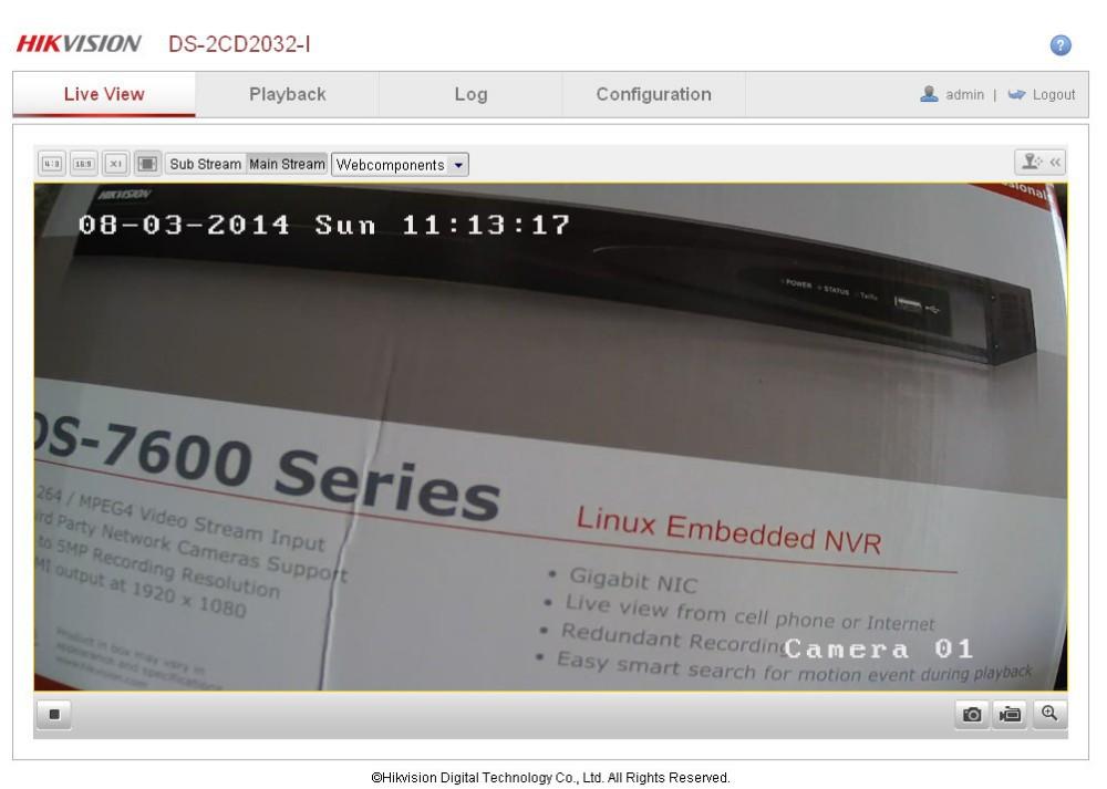 Hikvision NVR, Economic NVR, DS 7600NI SE Linux Embedded NVR