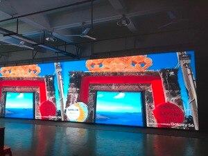 Image 4 - Китай p3.91 Крытый литой алюминий 500x500 шкаф для арендной рекламы видео стены светодиодный экран