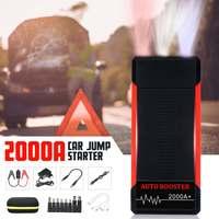 Автомобиль скачок стартер Мощность банк 2000A 24000 ма · ч портативный автомобильный Батарея бустер зарядное устройство 12 V начиная устройства б