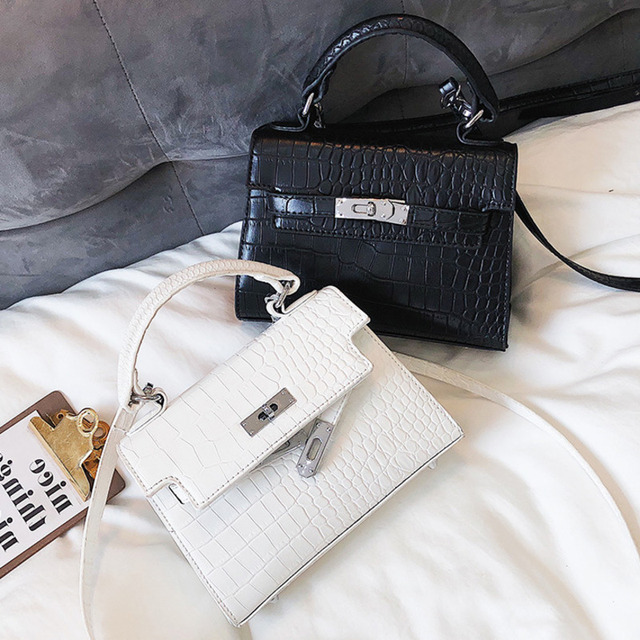 b73bfb05d 2019 Crocodile Crossbody Bags For Women Luxury Handbags Designer Famous  Brand Bolsa Feminina Messenger Shoulder Bag