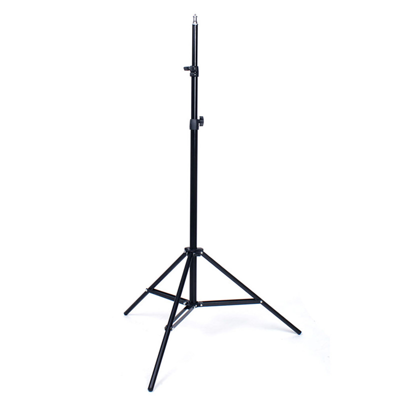 Professional Studio Adjustable Soft Box Flash Continuous Light Stand Tripod Adjustive height 80cm--2m with universal 1 4 thread
