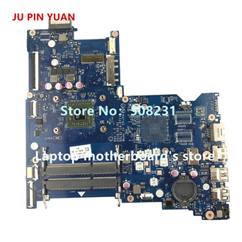 for hp 15 b series 854962 601 854962 501 854962 001 bdl51 la d711p rev 1 0 uma a8 7410 laptop motherboard mainboard tested JU PIN YUAN 854966-601 854966-001 BDL51 LA-D711P mainboard for HP NOTEBOOK 15-BA PC Laptop motherboard A6-7310 fully Tested