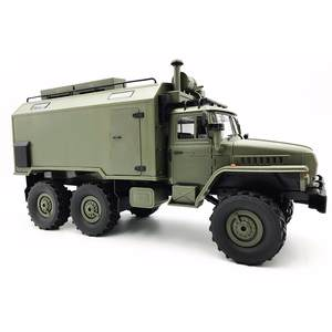Vehicle Communication Ural Rock Crawler Rc-Car Army-Trucks Auto Wpl B36 1/16 Rtr-Toy