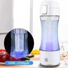 1 шт./компл. 1500ppb перезаряжаемые бутылка водорода богатые воды чайник ионизатор чаша-генератор