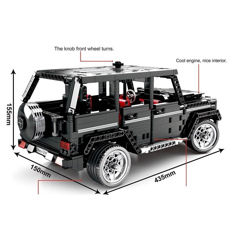 Oyuncaklar ve Hobi Ürünleri'ten Bloklar'de Legoing Teknik Blokları 1343 pcs mustang Merceding Benzs oyuncak araba Legoing Creator 21047 10262 Tuğla oyuncaklar Hediyeler için Çocuk'da  Grup 1