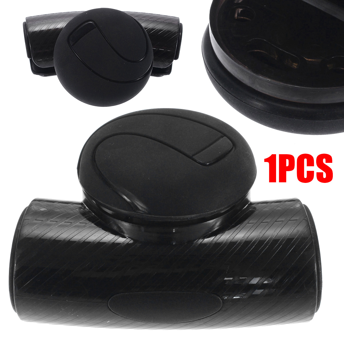 Controllers Car Steering Wheel Spinner Knob Auxiliary Booster Aid Control Handle Grip Black