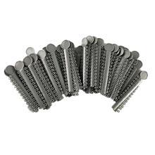 40pcs Dental Materials Elastic Ligation Ties Ring Orthodontic Supplies Dental Ligature Sticks for Teeth (Grey) dental metal orthodontic ligature gun dispenser autoclavable