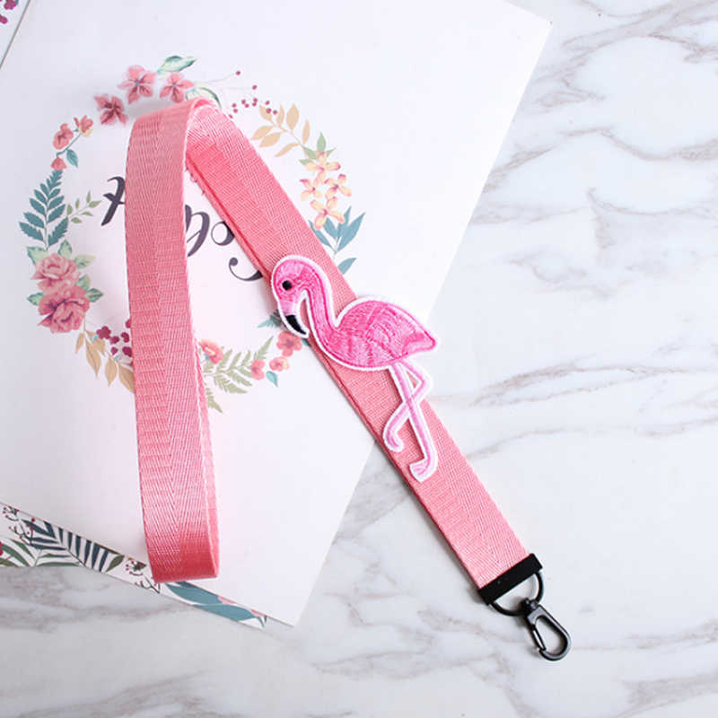 ... 2018 new Long Pink Key Chain Phone Case Party DIY 1PC Weave Handmade  Animal Short Porte ... b801b70b6c