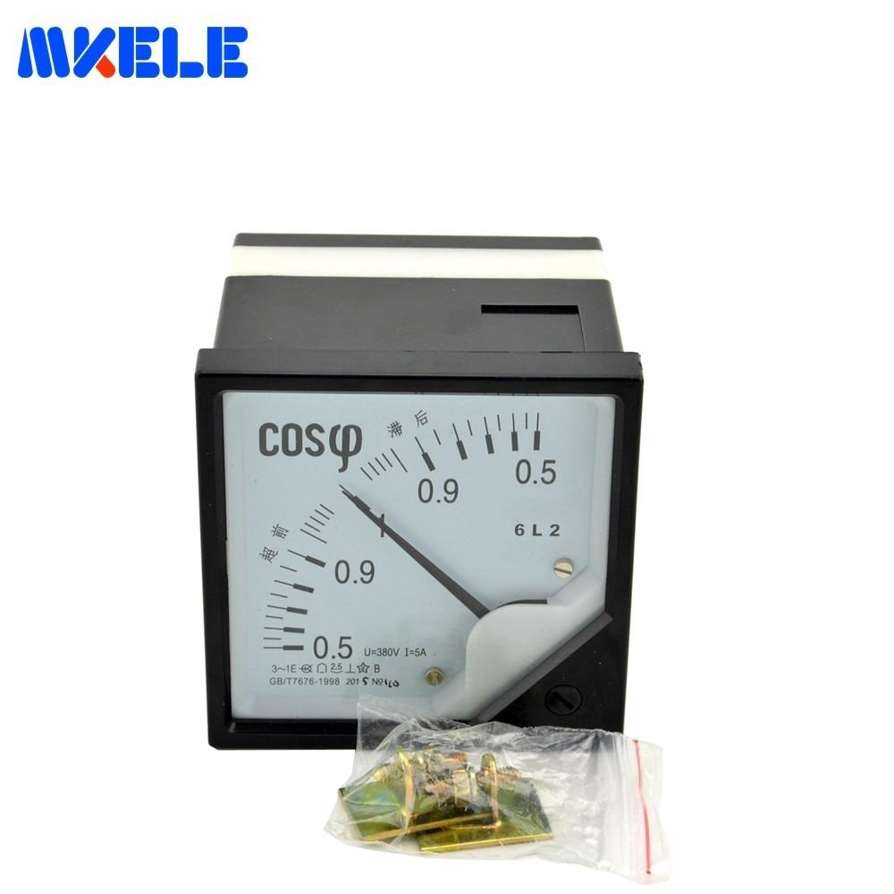 AC 6L2 (COS 380 V 5A) analogue Resistência de isolamento Tester Medidor de Ponteiro Só Megger Medição 0.5-1 Eletrônico