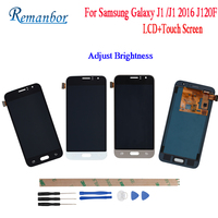 Remanbor For Samsung Galaxy J1 J120F J120DS J120G J120M J120H J120 LCD Display and Touch Screen Assembly Repair Parts With Tools