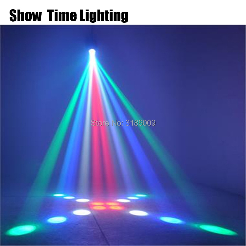 Hot sale led airship Moon flower dj light Home entertainment DJ party Disco light Auto Sound Model work Carton Building block