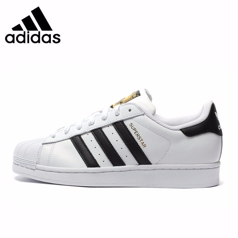 Adidas Original Superstar Men's Breathable Skateboarding Shoes Super Light Sneakers C77124