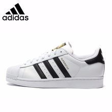 Adidas Original Superstar Men's Breathable รองเท้าส(China)