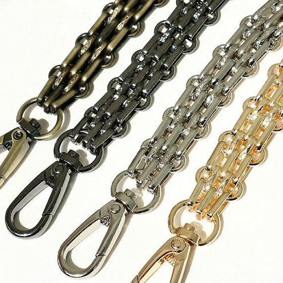 [Telastar] DIY 60cm-140cm Metal Chain Bag Replacement Bag Strap Purse Chain Shoulder Handbag Strap Repairment Hardware Parts