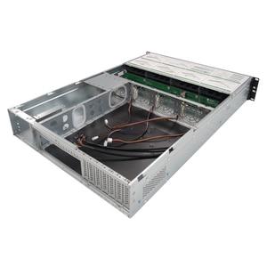 Image 3 - 19 인치 IPC 2U 랙 마운트 핫 스왑 섀시 8HDD 베이 IPFS 스토리지 서버 케이스 S265 8 600W 전원 공급 장치가있는 6GB SATA 백플레인