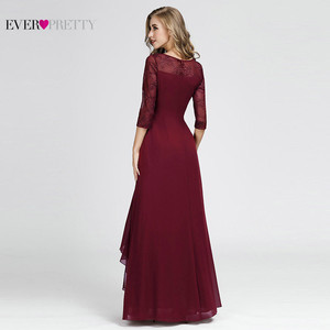 Image 3 - Plus Size Mother Of The Bride Dresses For Weddings Elegant A Line O Neck Appliques Long Formal Party Gowns Vestidos Madre Novia