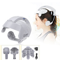 Head Vibration Massage Easy brain Massager Electric Head Massage Relax Brain Acupuncture Points Stress Release Health Care Tool