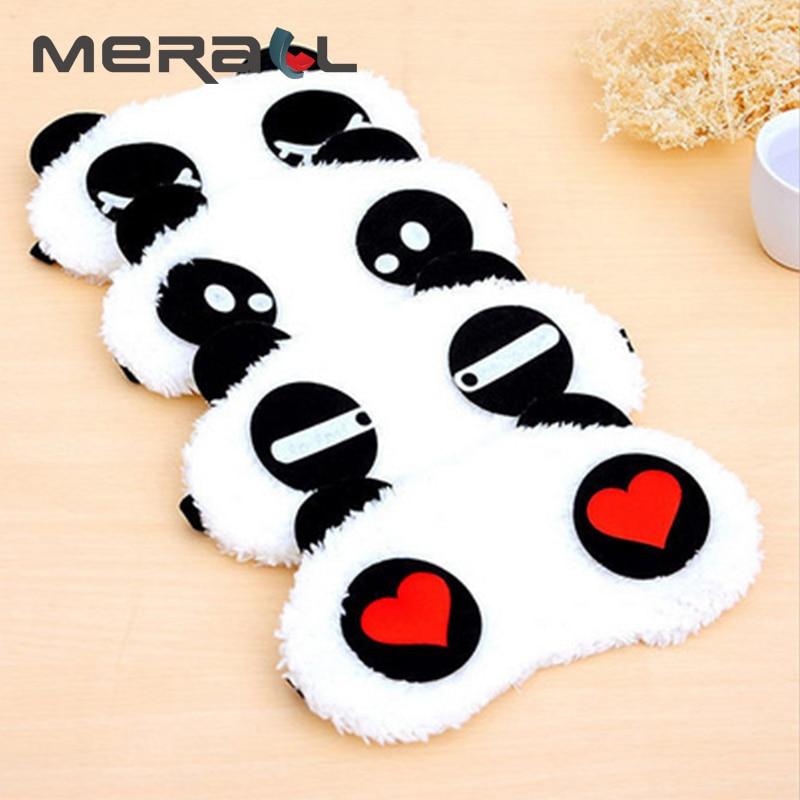 Panda sleeping eye <font><b>mask</b></font> nap Rest Cute Ca