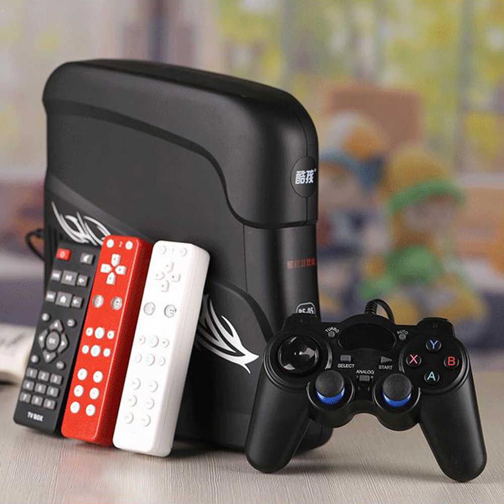 4 núcleos de 32 Bits CPU Android 4.4.4/HDMI/AV 8GB inteligente casa anfitrión TV WIFI Retro juego de Video consola de juegos Somatosensory enchufe de EE. UU./UE