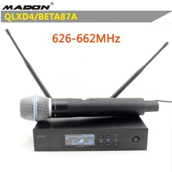 Free Shipping , QLXD4/BETA87A 626 662MHz  shurewireless microphone ,QLXD4 wireless microphone