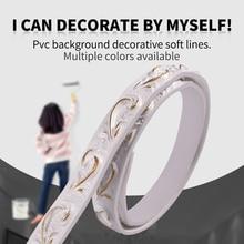 Фон для стены, потолочный имитация штукатурки, мягкая и декоративная линия для формирования гибкой линии