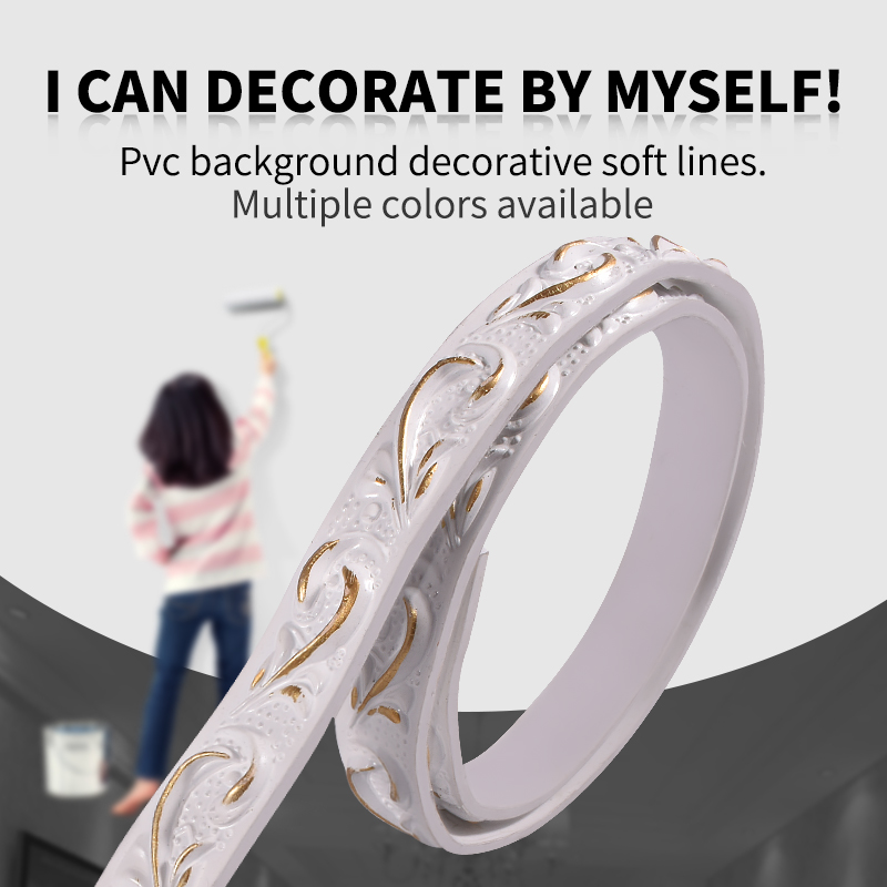 Background Wall Ceiling Imitation Plaster Soft And Decorative Line Molding-making Bendable Line