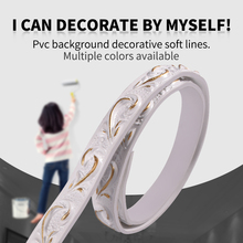 Background wall ceiling imitation plaster soft and decorative line molding making bendable line