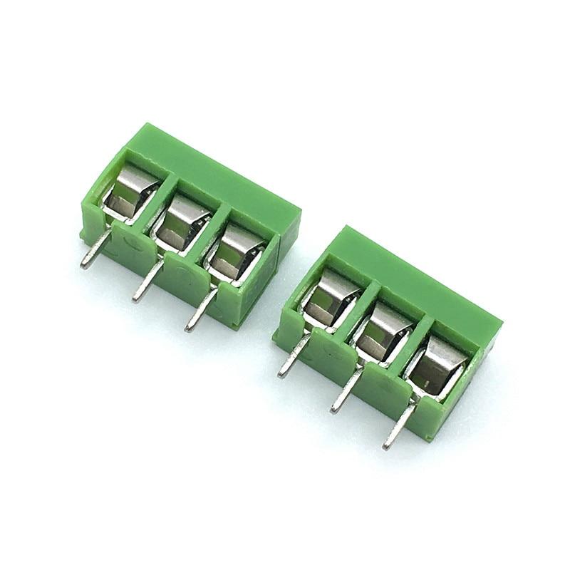 Wholesale 500pcs lot KF301 5 0 2P 3P KF301 KF126 Screw 2Pin 3Pin 5 0mm Straight