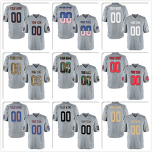 b8e0609fed1 Custom Mesh Replica Football Game Jersey Embroidered Team Logo Your Own Name  Number Men Women Child