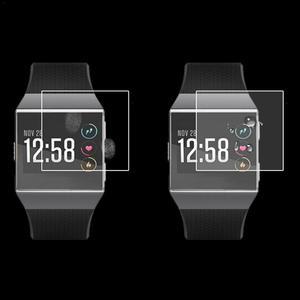 Image 5 - Gorąca sprzedaż 2 sztuk inteligentna bransoletka HD przeciwwybuchowe Ultra cienkie ekrany ochronne wyraźny widok dla Fitbit Ionic Smartwatch nowy 2019