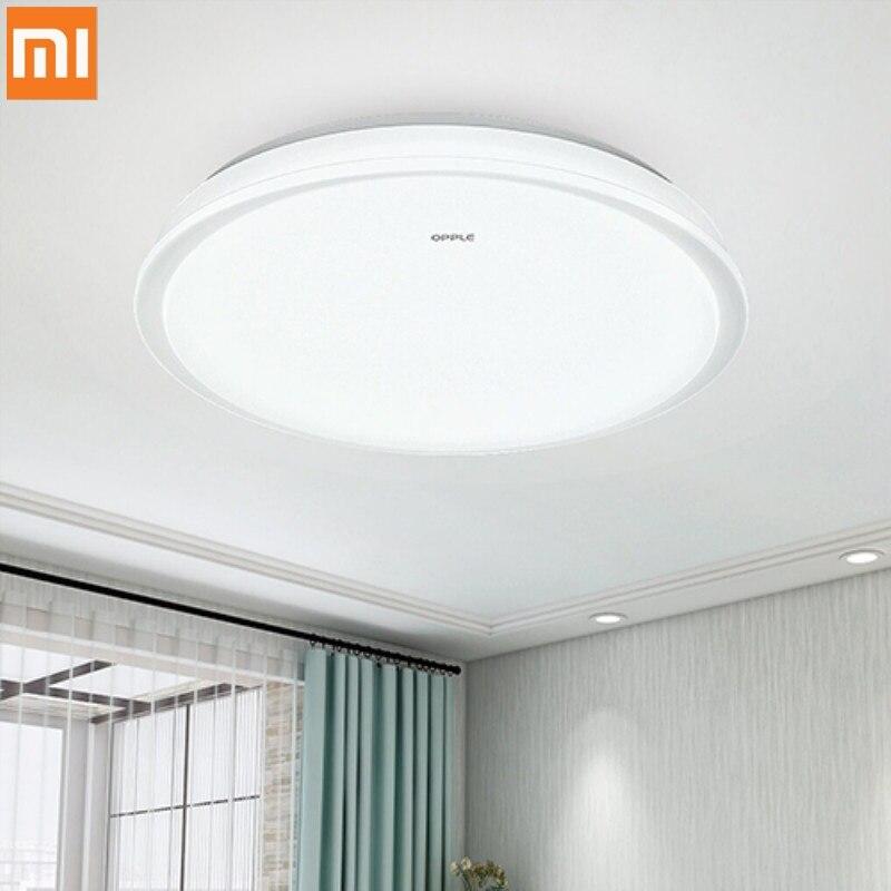Xiaomi OPPLE Simple moderne rond plafonnier 5700 K LED 180 degrés IP20 anti-poussière plafonnier pour la maison de Xiaomi Youpin